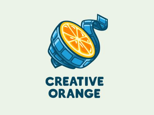 Creative Orange Logo by Sveta Shokhanova