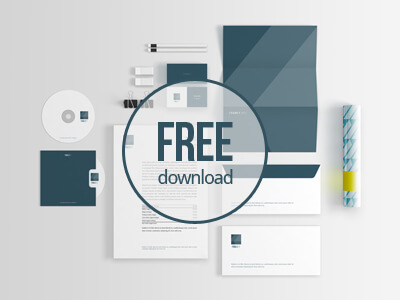 Free Stationery Mockup by Wassim