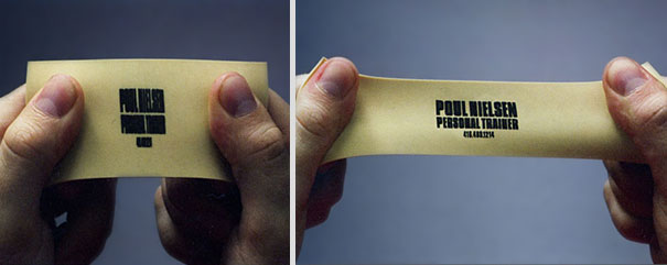 Personal Trainer's Business Card
