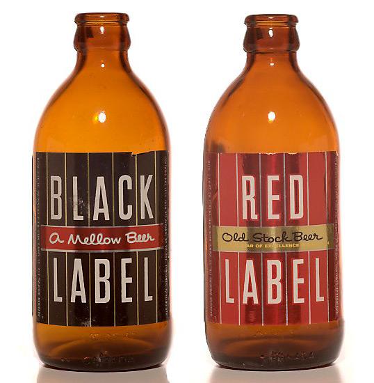 Stubby Beer Bottles