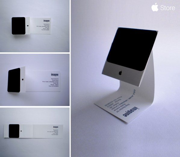 iMac business card.