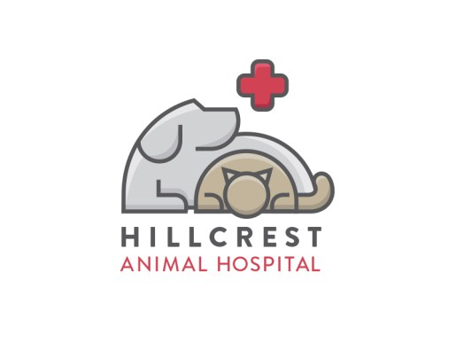 Another Animal Hospital Logo Idea by Laura Guardalabene