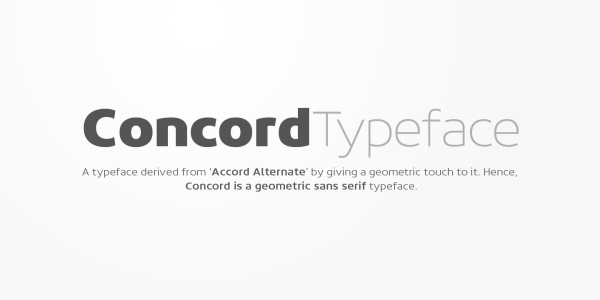 Concord by Soneri Type