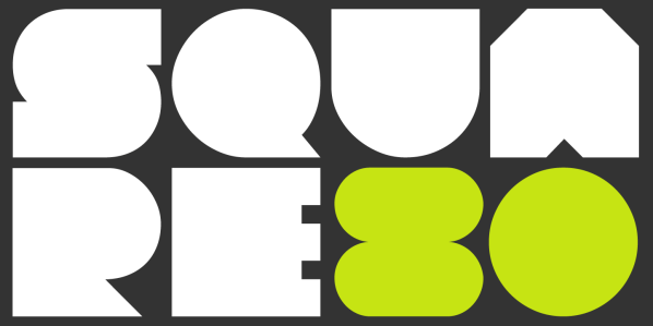 Square 80 by Zetafonts