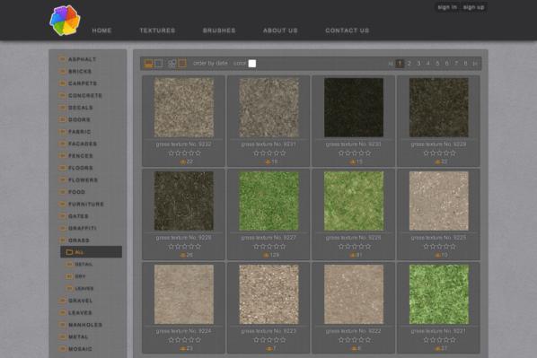 196 Grass Textures from Plaintextures