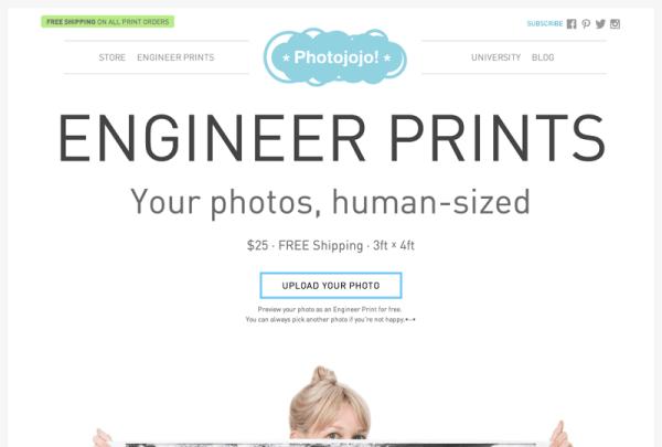 Engineer Prints from Photojojo