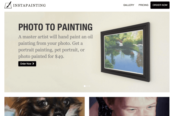 Hand Painted Photo to Painting, Portrait Painting, Custom Oil Painting - Instapainting