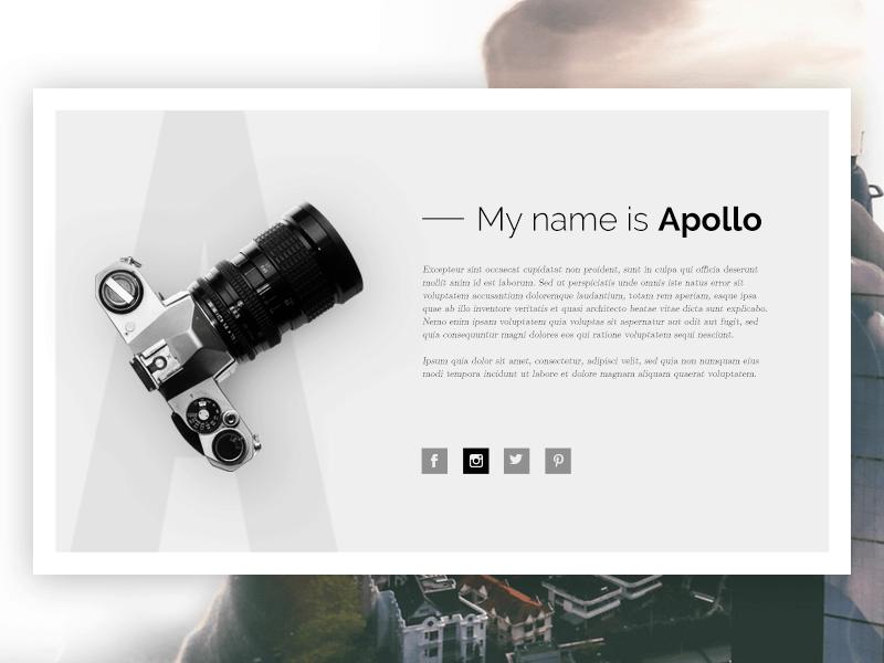 Apollo Free PSD Template (1)