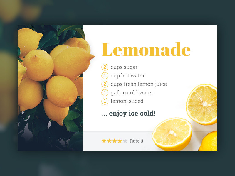 recipe-card-lemonade-by-jan-erik-waider