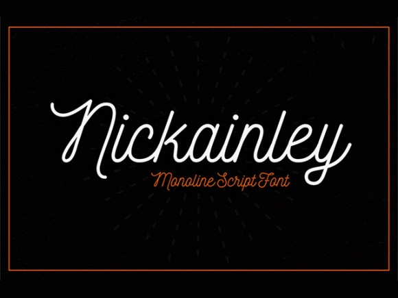 Nickainley free font