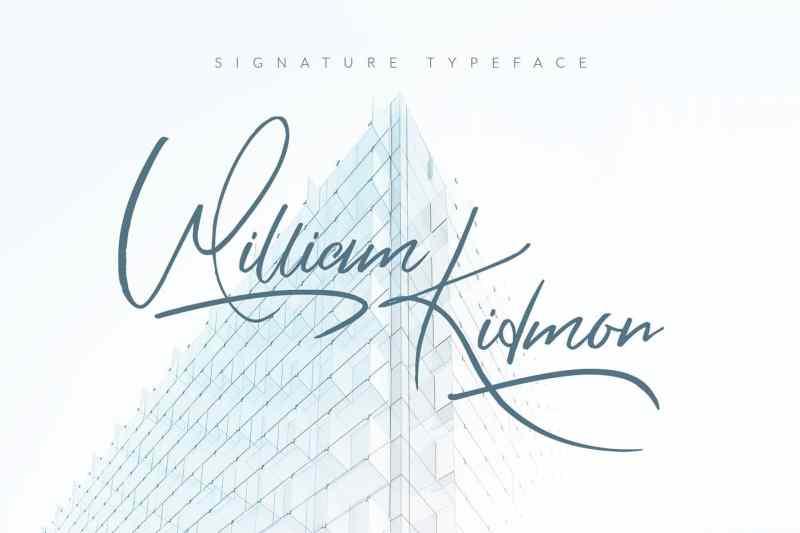 William Kidmon - Script Like Save William Kidmon - Script - 1 William Kidmon - Script - 2 William Kidmon - Script - 3 William Kidmon - Script - 4 William Kidmon - Script - 5 William Kidmon - Script - 6 William Kidmon - Script - 7 William Kidmon - Script - 8 William Kidmon - Script - 9 William Kidmon - Script - 10 INTRODUCTION: Let me introduce you the font William Kidmon.