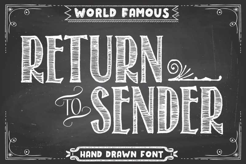 A very expressive and fun font sure to grab attention.