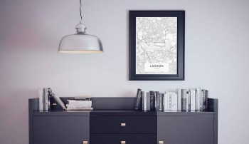Custom Map Posters from YourOwnMaps