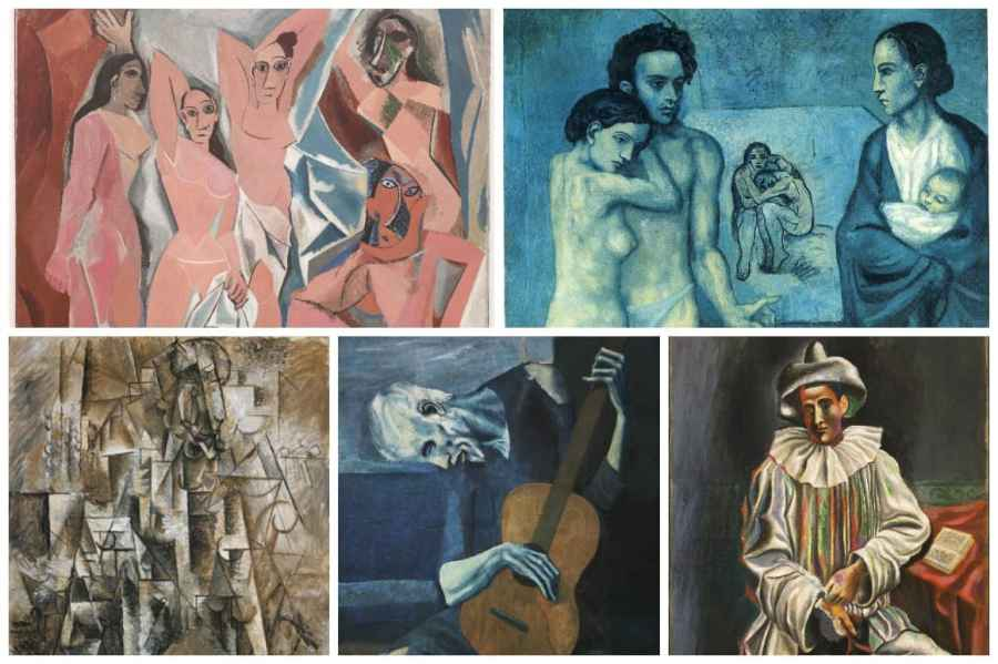 Pablo Picasso's Earlier artWorks