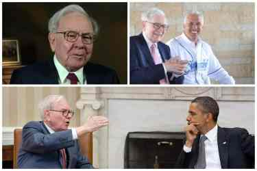 Warren Buffet Collage