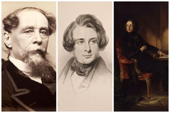 Charles Dickens Collage