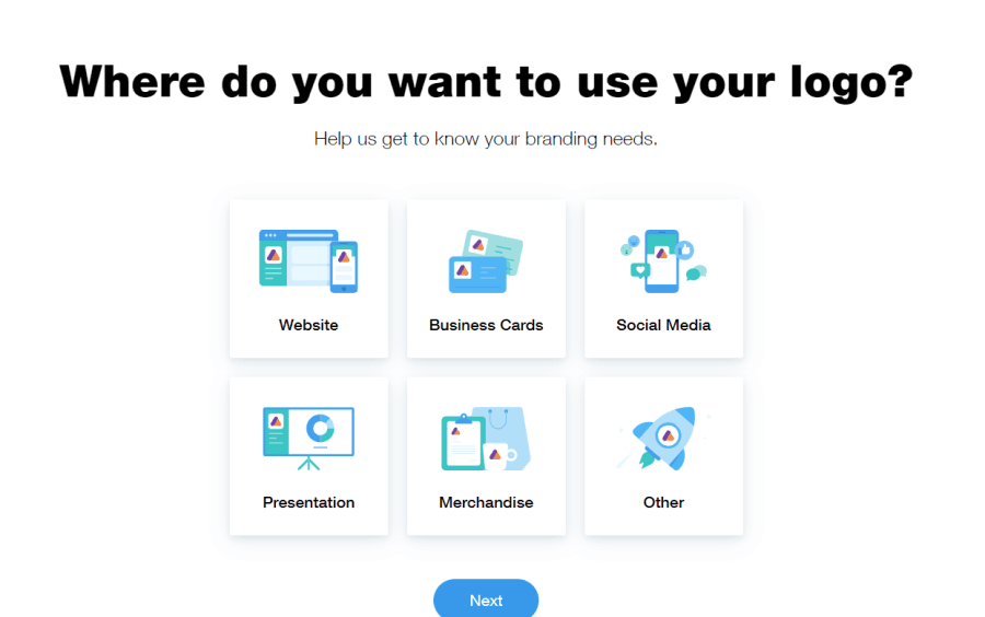 Where do you want to use the logo