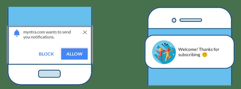 Mobile Notifications UI