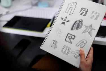 designing a new logo for a startup