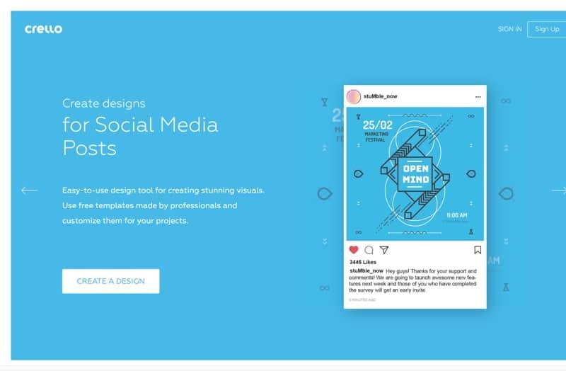Crello — Free Graphic Design Software. Simple Online Photo Editor