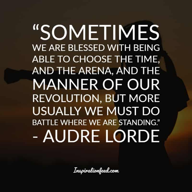 Powerful Quotes from Audre Lorde