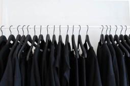 Black Wardrobe Hanging