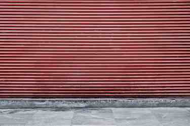 Red Storage Unit