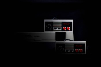 nintendo nes game console set