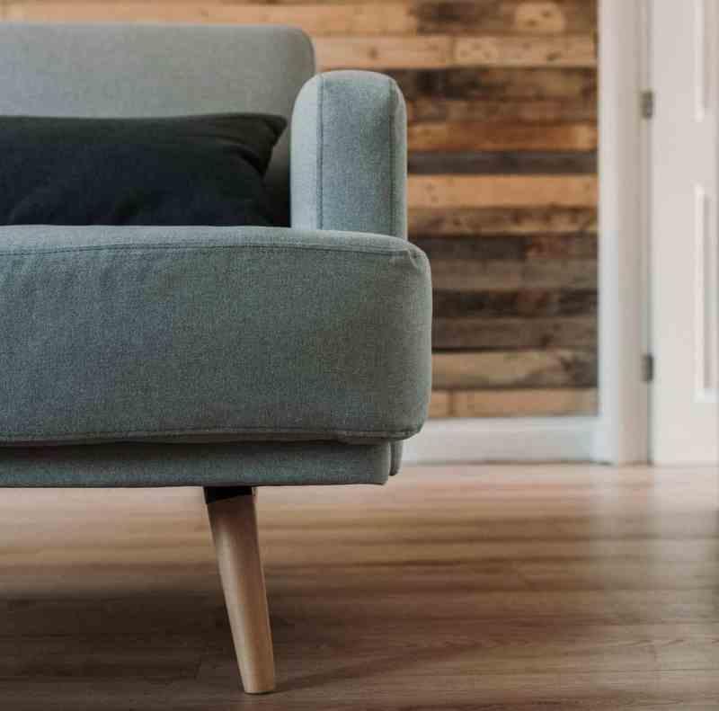 Modern Sofa inside a home