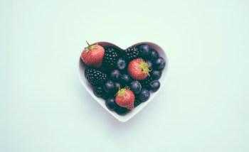 Heart Shaped Fruit Bowl