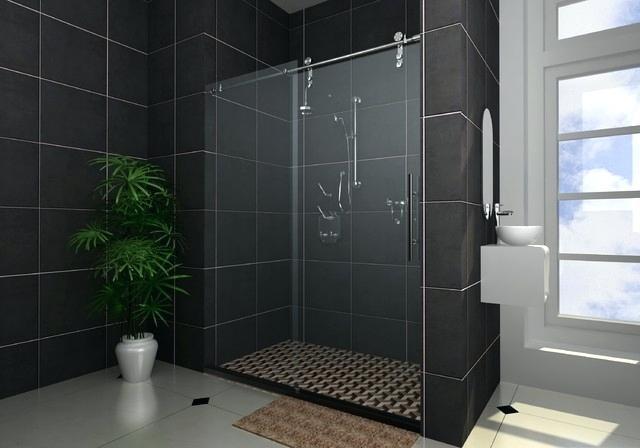 sliding-frameless-shower-doors