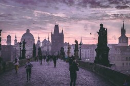 Prague During Dusk