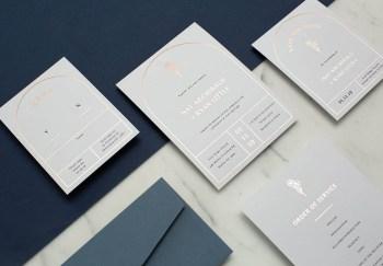 Stunning Invitation Card Design by Paperlust