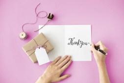 Thank You Thanks Gift Appreciate Gratitude Concept