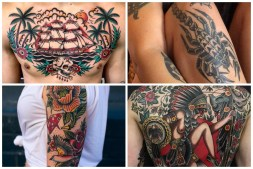 Traditional American Tattoos