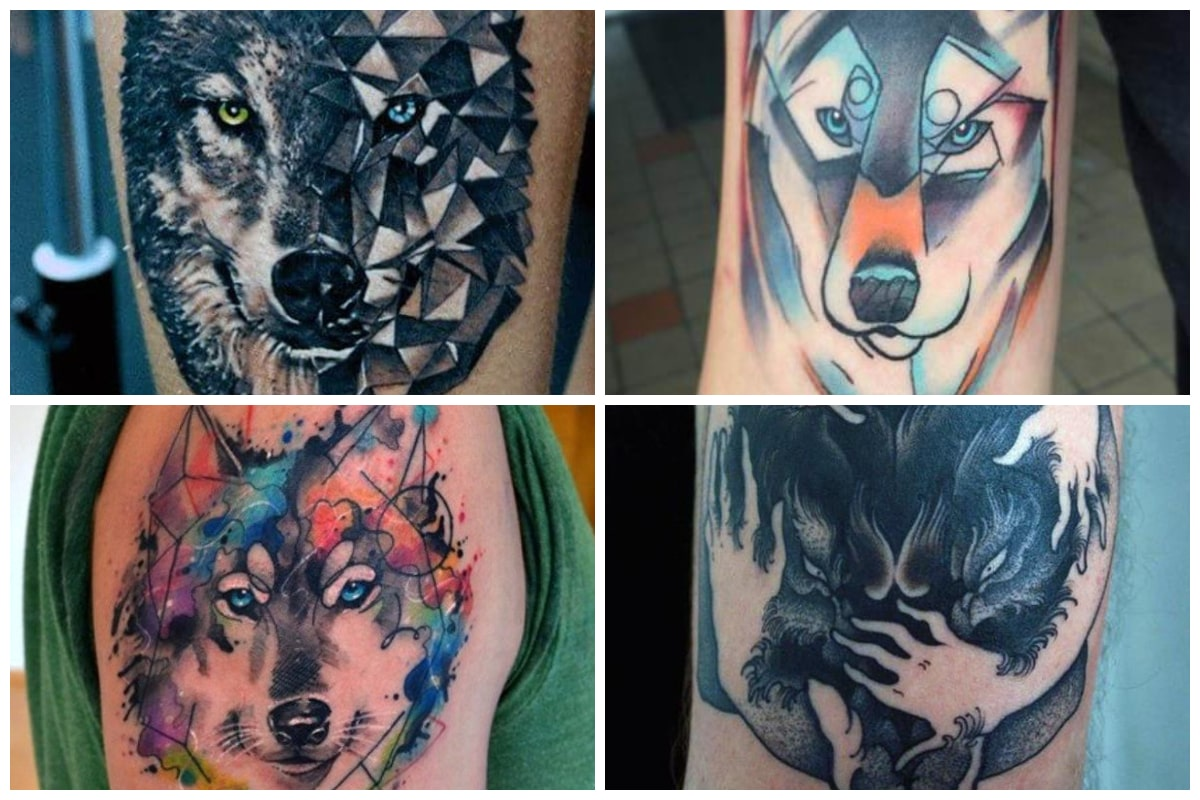 Wolf Tattoos On Paper Archives Inspirationfeed