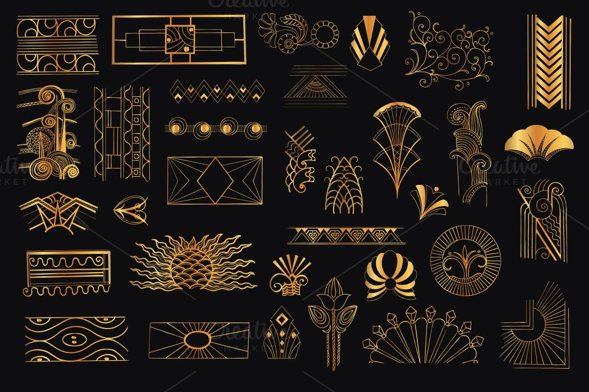 40 Remarkable Art Deco Designs Amp Resources