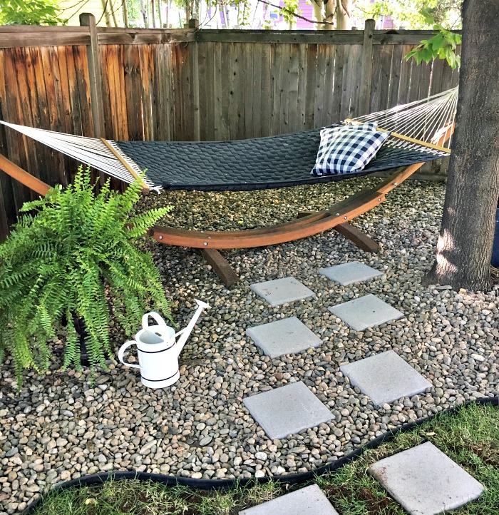 new paver stone path and other updates