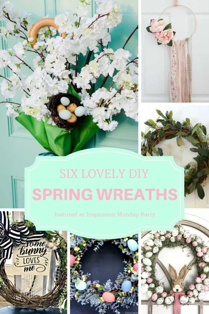 Pastel Floral Scallop Garland Spring Mantel Garland Spring Party Decor Tea Party Decor