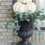 Easy Diy Fall Pumpkin Topiary Inspiration For Moms