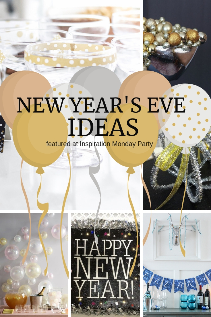 Welcome to the popular Inspiration Monday Party! Come visit and see these fantastic New Yer's Eve Ideas!