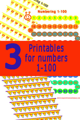 printables with numbers up to 200