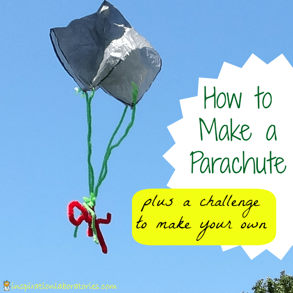 Learn about crafts kids can make to celebrate thanksgiving. How To Make A Parachute Inspiration Laboratories