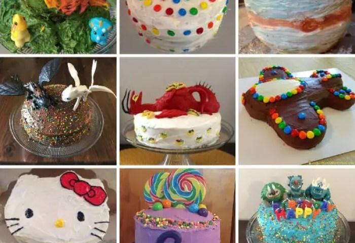 Easy Kids Birthday Cake Ideas Inspiration Laboratories