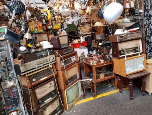 oude radio's - Bazaar Beverwijk