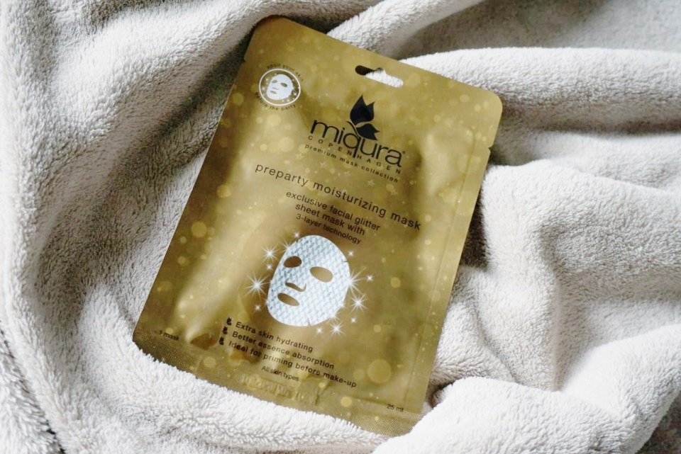 Miqura - Preparty moisturizing Mask