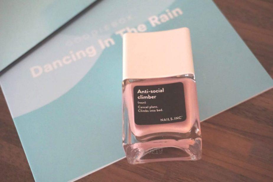 Goodiebox Dancing in The Rain - Anti Social Climber Nail Polish, Nails Inc.