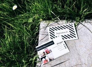 Visitekaartje van Inspiration NL via Drukwerknodig.nl