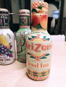 Arizona - Iced tea with peach flavour