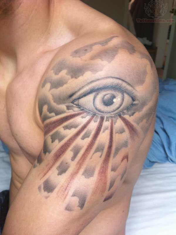 45+ Cloud Tattoos Meaning and Designs Gallery For Men and ...